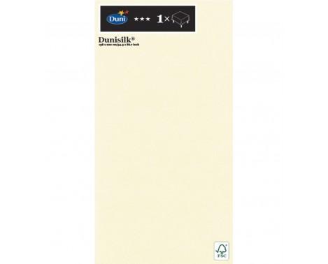 Creme silk borddug 138 x 220 cm