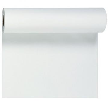 Hvid bordløber og kuvertløber 40 cm bred