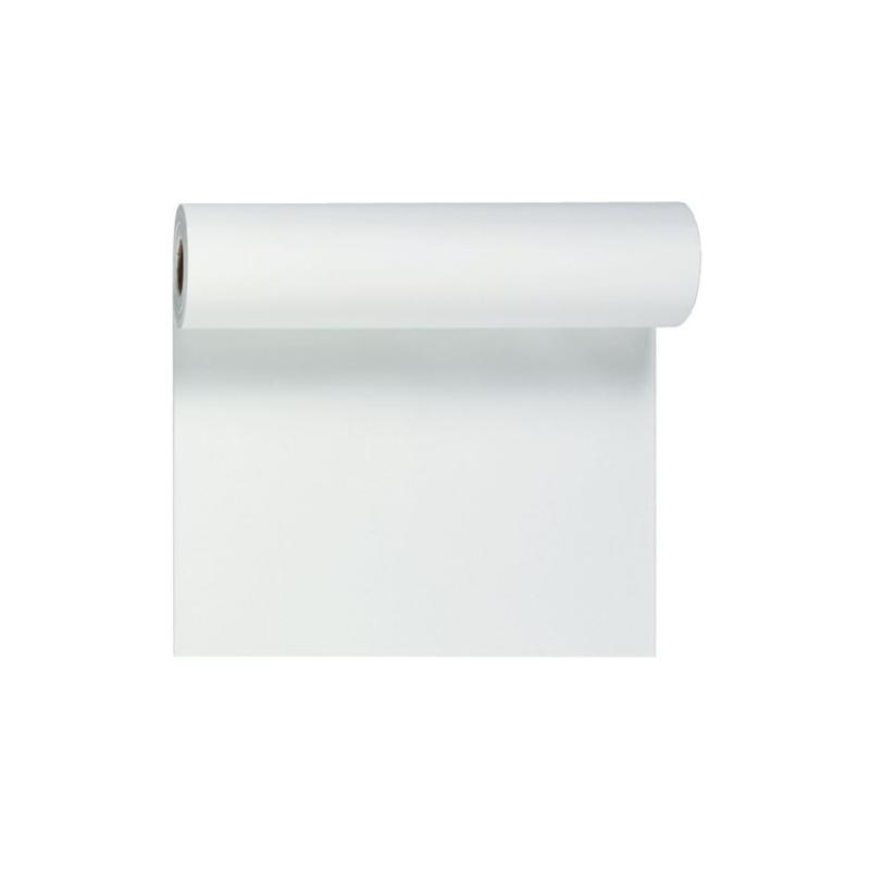Billede af Hvid bordløber og kuvertløber 40 cm bred