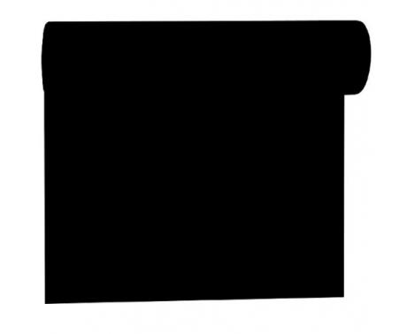 Sort bordløber og kuvertløber 40 cm bred