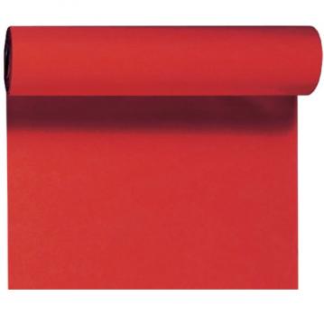 Rød bordløber og kuvertløber 40 cm bred