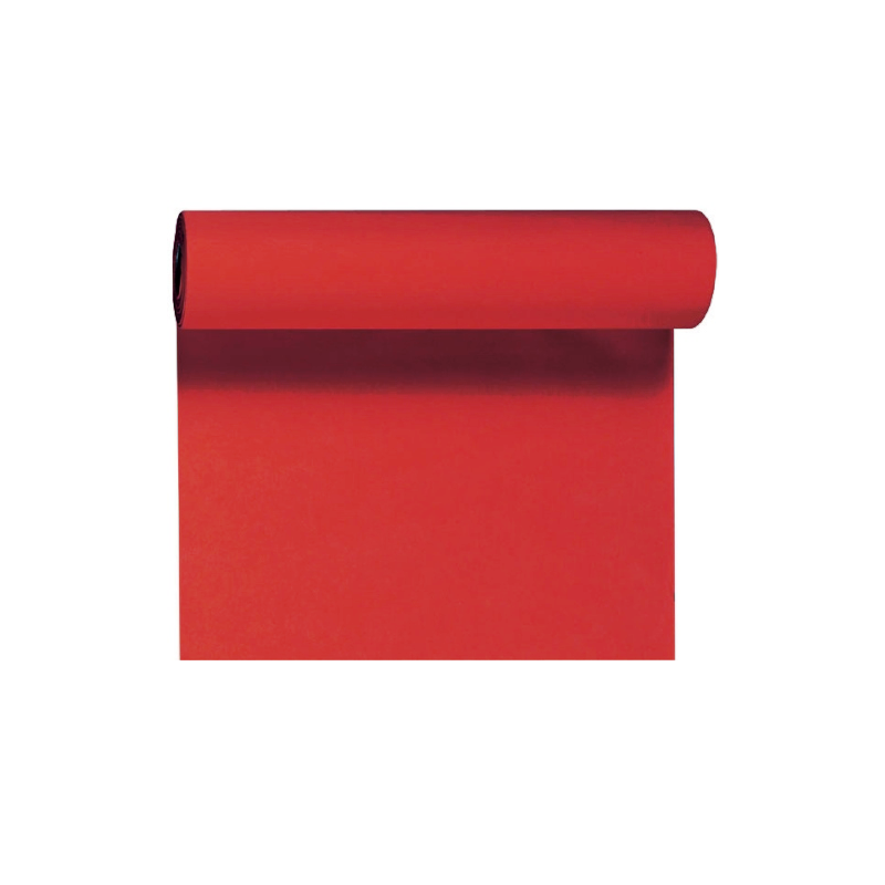 Billede af Rød bordløber og kuvertløber 40 cm bred