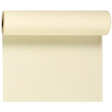 Creme bordløber og kuvertløber 40 cm bred