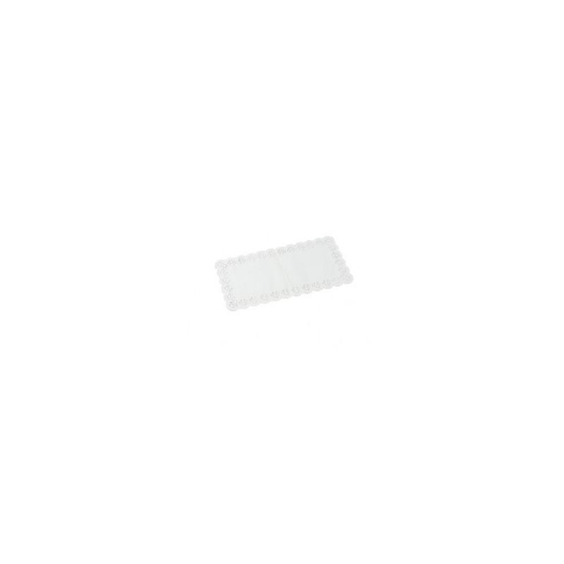 Billede af 100 stk Kagepapir hvid 24x14cm