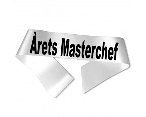 Årets Masterchef sort tryk - Ordensbånd