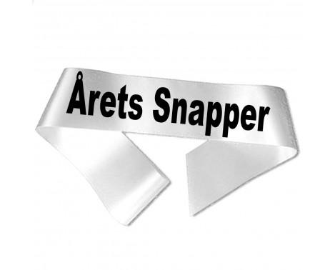 Årets Snapper sort tryk - Ordensbånd