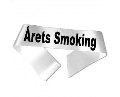 Årets Smoking sort tryk - Ordensbånd