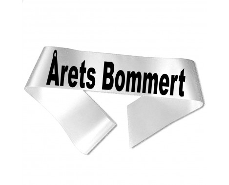 Årets Bommert sort tryk - Ordensbånd