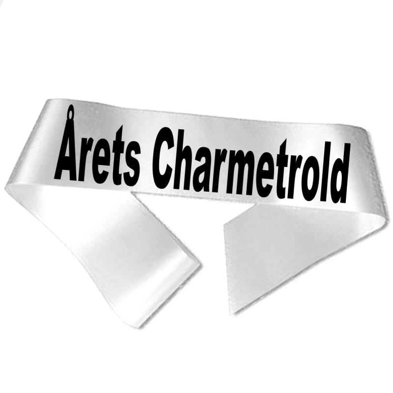 Årets Charmetrold sort tryk - Ordensbånd