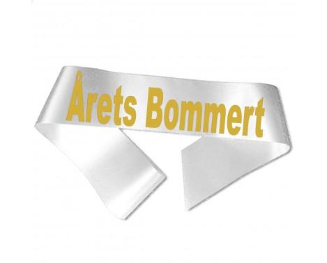 Årets Bommert guld metallic tryk - Ordensbånd