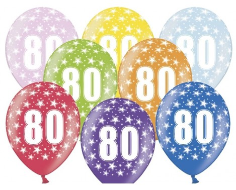 80 års fødselsdagen Køb her til 80 års fødselsdag   stort udvalg i luksus balloner 80 års fødselsdagen