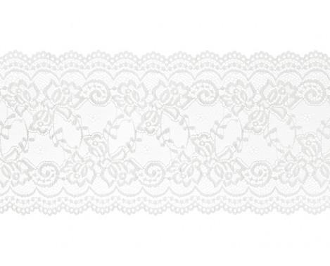 Blond løber 9 m x 15 cm råhvid