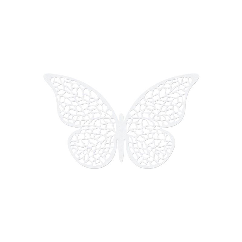10 stk Sommerfugle med mønster