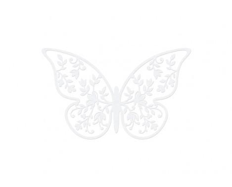 10 stk Sommerfugle med udskæringer