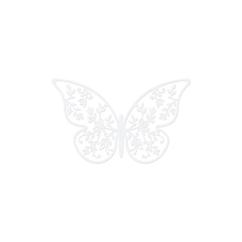 10 stk Små sommerfugle til bordpynt