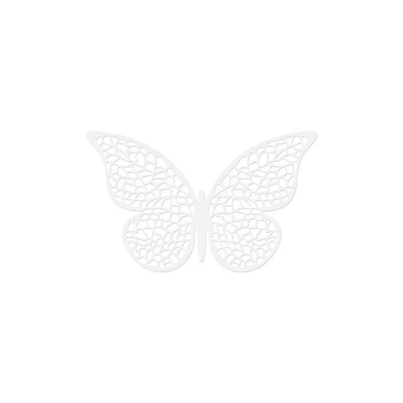 10 stk Dekorative sommerfugle