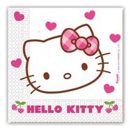 20 Stk.Hello Kitty Servietter