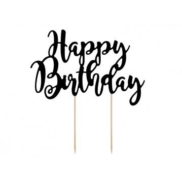 """Kage topper """"Happy Birthday"""" sort"""