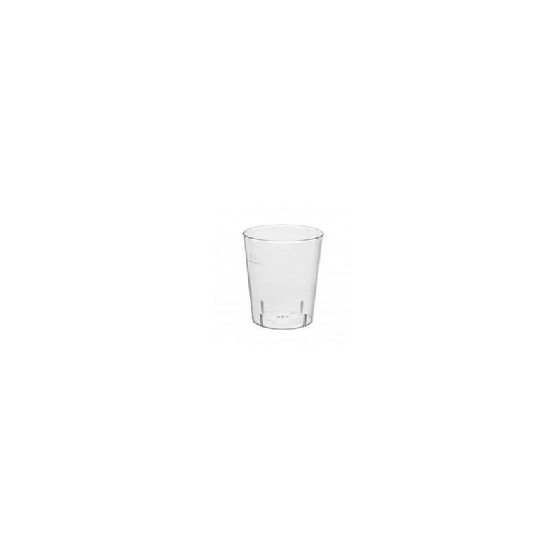 Billede af 50 stk Shotglas - Snapseglas 2 cl hård plast