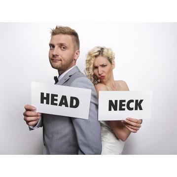 2 stk Foto props Neck/Head