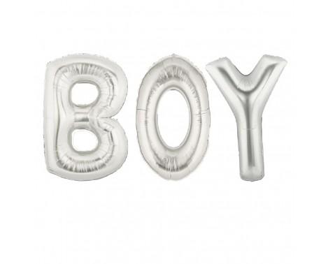 "Boy - tekst 16"" pakket i sæt"