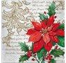 20 stk Juleservietter med julestjerne