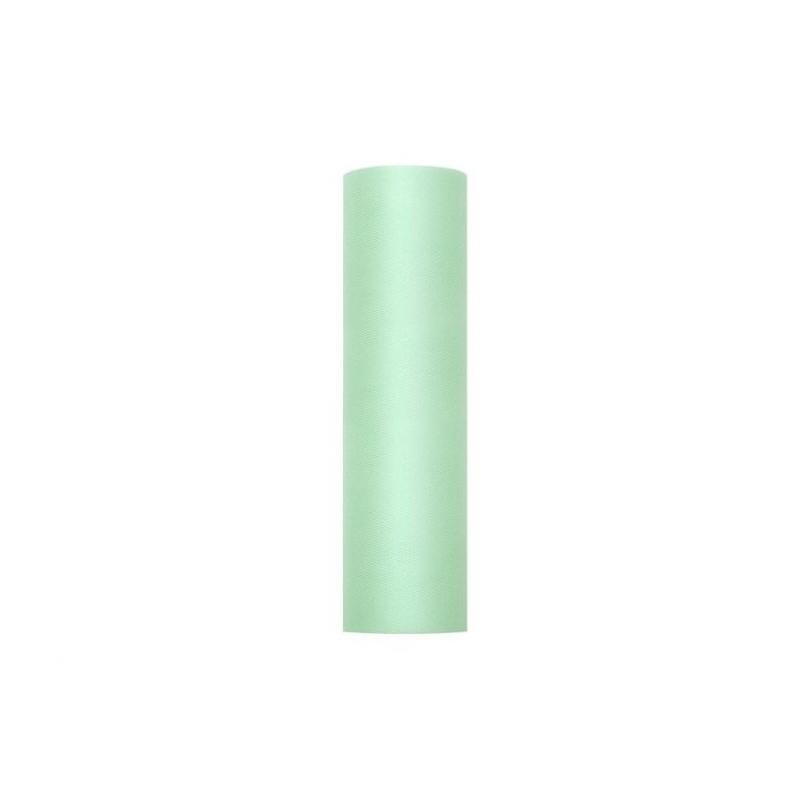 Billede af Tyl i Mintgrøn 0,15 x 9 meter.