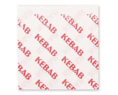 200 Stk. Kebab pita papir
