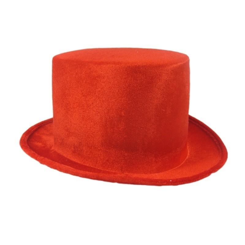 Billede af Rød hat 14cm høj