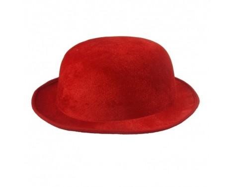 Bowlerhat rød