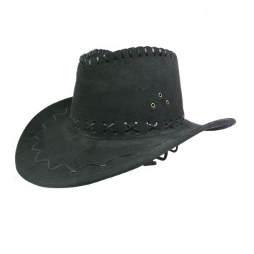 Cowboyhat sort nubuck
