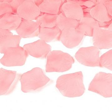 Rosenblade 100 stk pink silke
