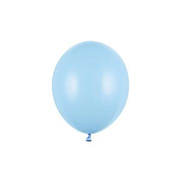 """20 stk Standard lyseblå balloner - str 10"""""""