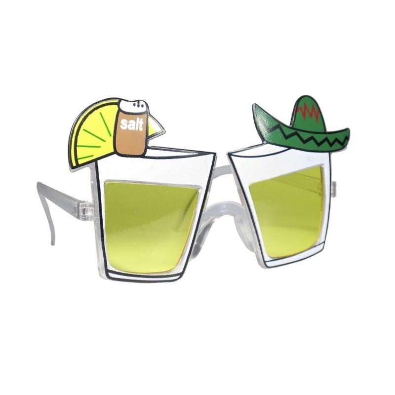 Billede af Partybriller med Tequila glas