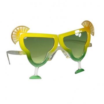 Festbriller med cocktail glas