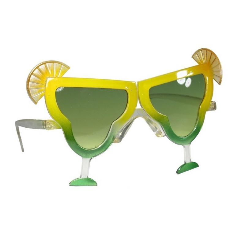 Billede af Festbriller med cocktail glas