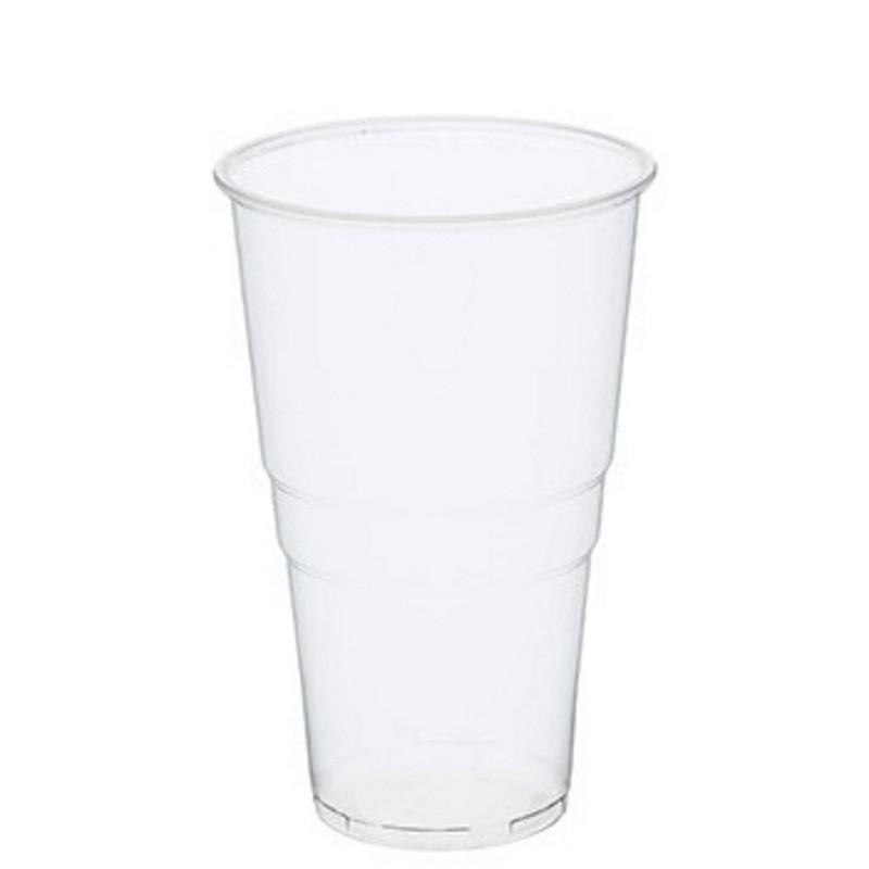 Billede af 50 stk Ølglas 500 ml blød plast