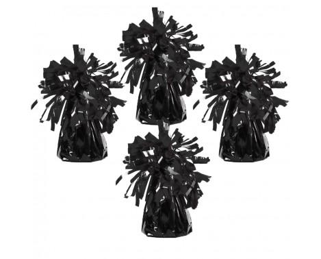 4 stk Ballonvægte sort