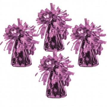 4 stk Ballonvægte pink