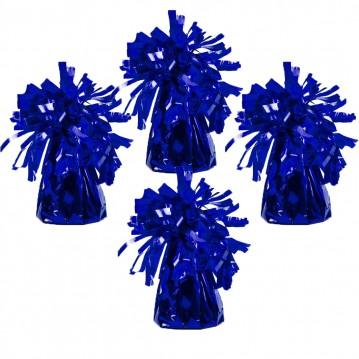 4 stk Ballonvægte mørkeblå