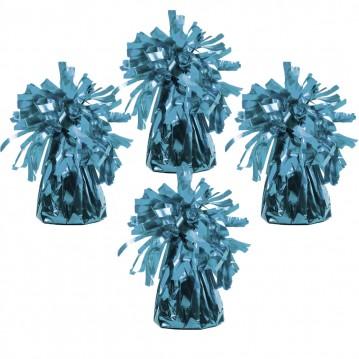 4 stk Ballonvægte lyseblå