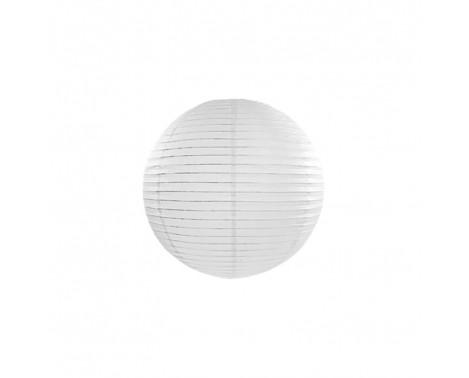 Rispapirlampe Hvid 20 cm