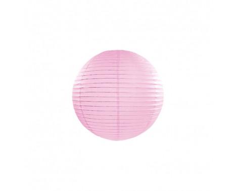 Rispapirlampe Lyserød 20 cm