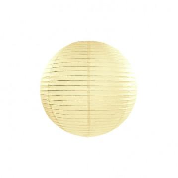 Rispapirlampe Creme 25 cm