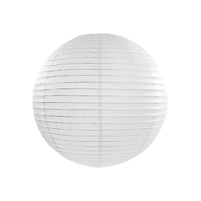 Rispapirlampe Hvid 35 cm