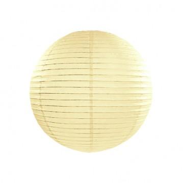 Rispapirlampe Creme 35 cm