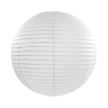 Rispapirlampe Hvid 45 cm