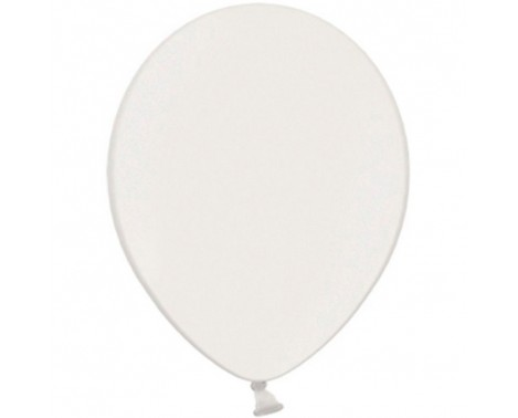"20 stk Perle hvid balloner - str 10"""
