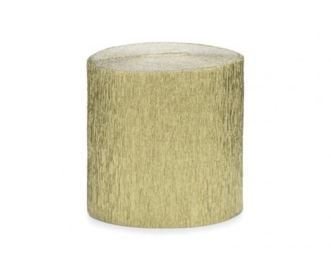 4 stk. Creperuller i guld 5 cm x 10 meter