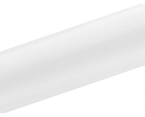 Satin stof i Hvid - 0,16 x 9 meter
